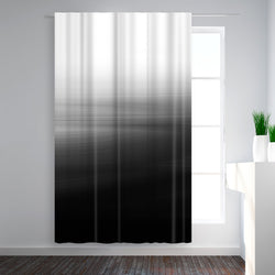 Abstract Black by Emanuela Carratoni Shower Curtain