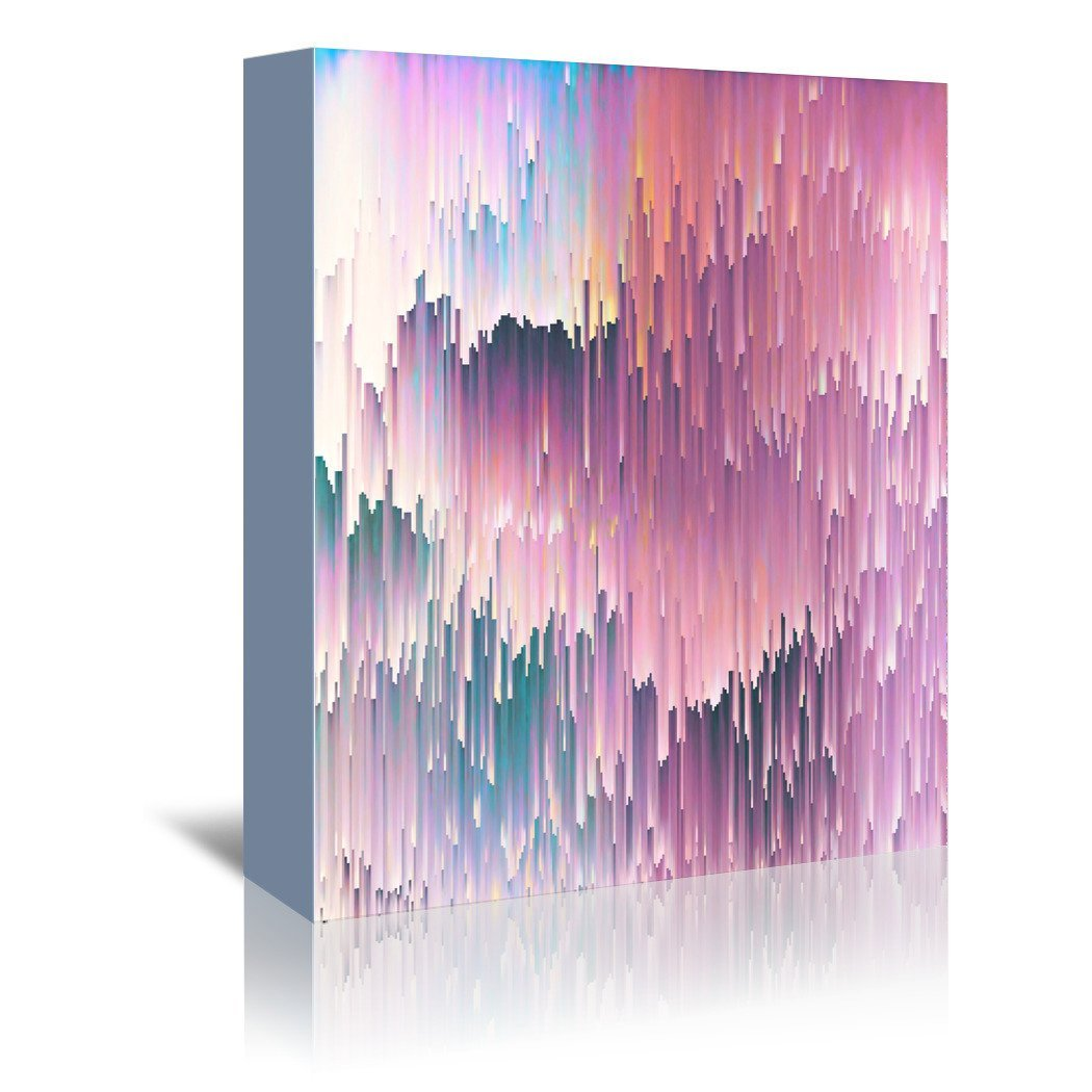 Bold Glitches by Emanuela Carratoni Wrapped Canvas - Wrapped Canvas - Americanflat