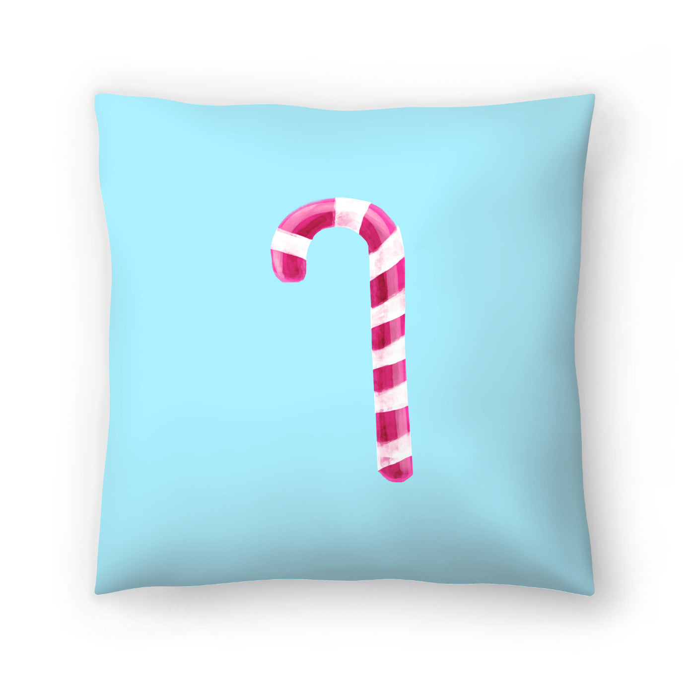 Candy Cane by Emanuela Carratoni Decorative Pillow - Decorative Pillow - Americanflat