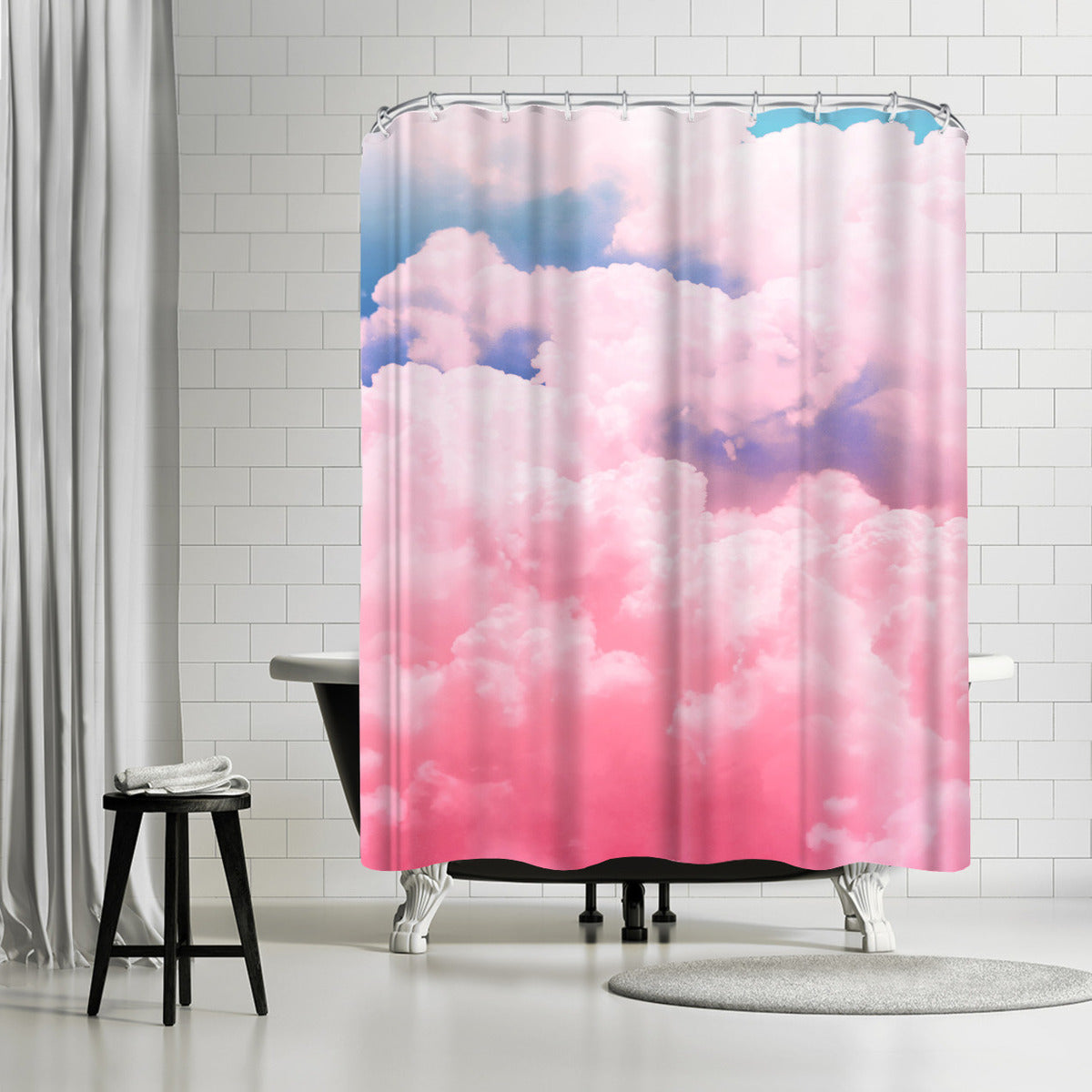 Candy Sky by Emanuela Carratoni Shower Curtain -  - Americanflat