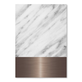 Copper On Marble by Emanuela Carratoni Art Print