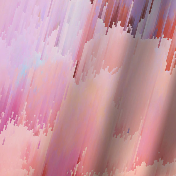 Delicate Glitches by Emanuela Carratoni Shower Curtain