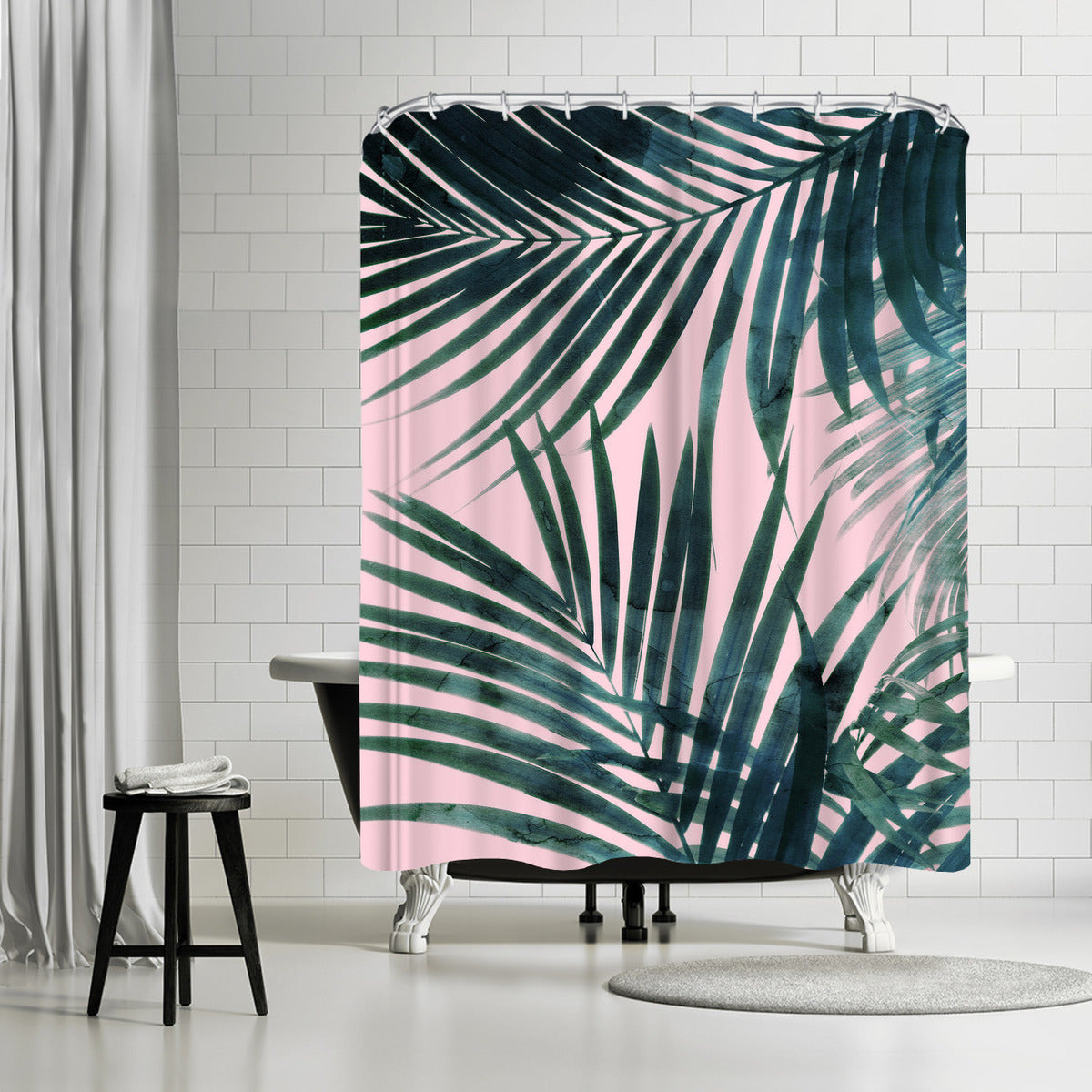 Delicate Jungle by Emanuela Carratoni Shower Curtain -  - Americanflat