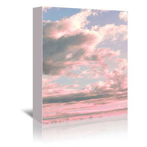 Delicate Sky by Emanuela Carratoni Wrapped Canvas