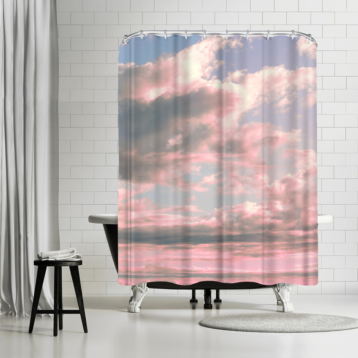 Delicate Sky by Emanuela Carratoni Shower Curtain - Shower Curtain - Americanflat