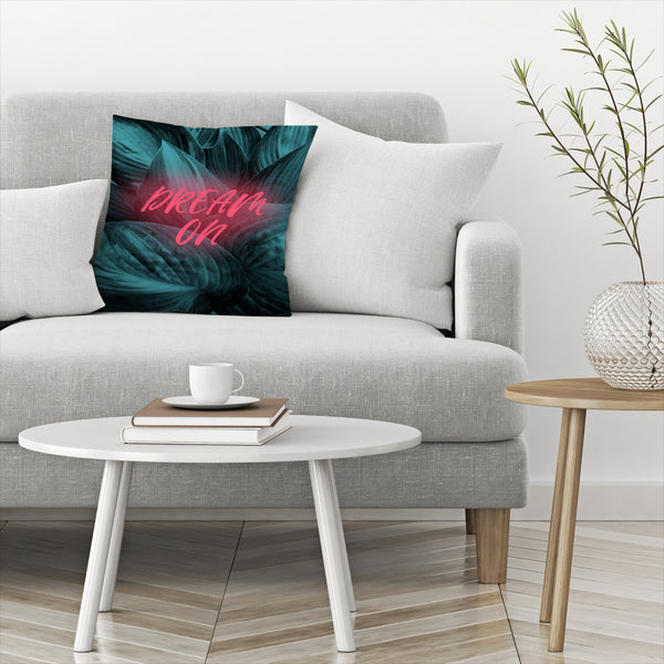 Dream On by Emanuela Carratoni Decorative Pillow