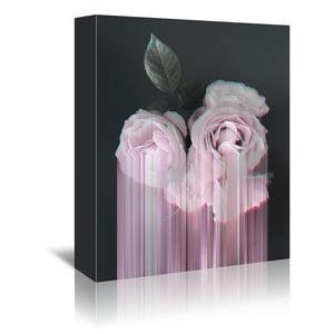 Fall In Rose by Emanuela Carratoni Wrapped Canvas