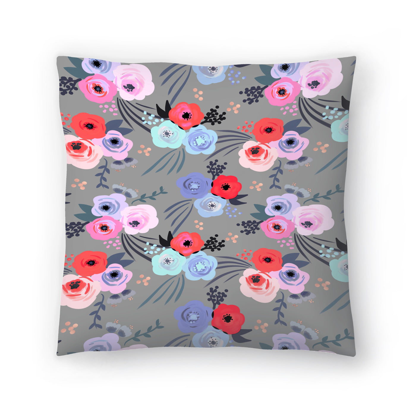 Handmade Garden by Emanuela Carratoni Decorative Pillow - Decorative Pillow - Americanflat
