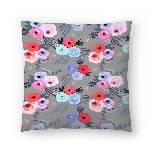 Handmade Garden by Emanuela Carratoni Decorative Pillow