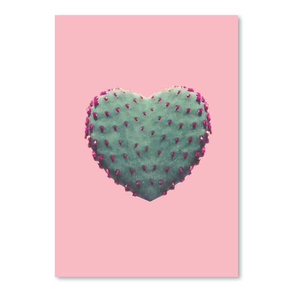 Heart Of Cactus by Emanuela Carratoni Art Print