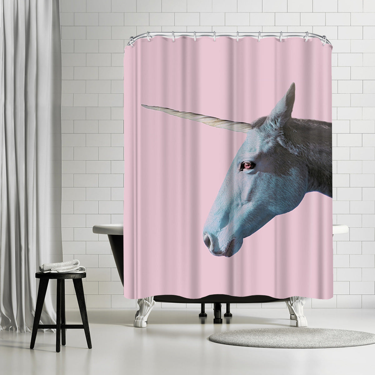 I Really Believe In Myself by Emanuela Carratoni Shower Curtain -  - Americanflat
