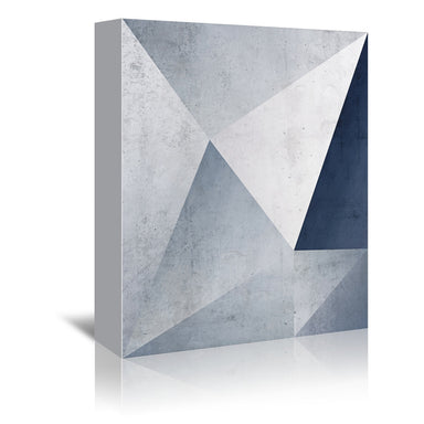 Iced Geometry by Emanuela Carratoni Wrapped Canvas - Wrapped Canvas - Americanflat