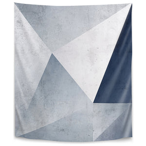 Iced Geometry by Emanuela Carratoni Tapestry
