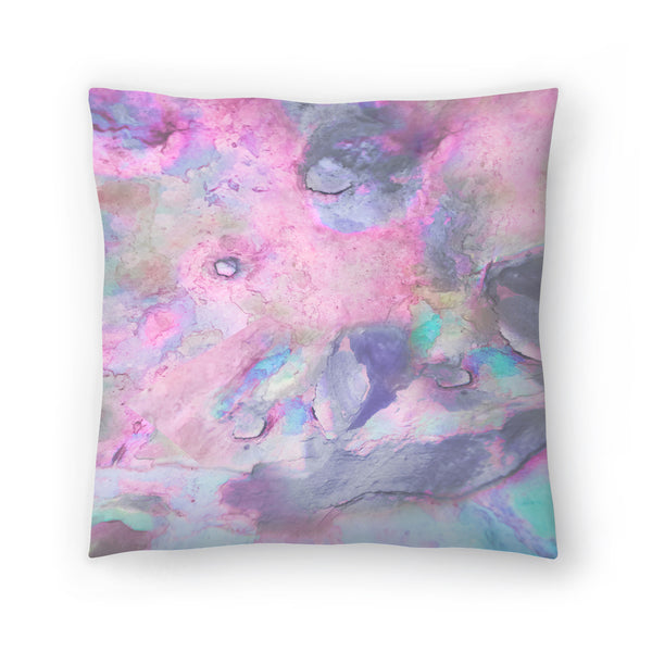 Iridescence by Emanuela Carratoni Decorative Pillow