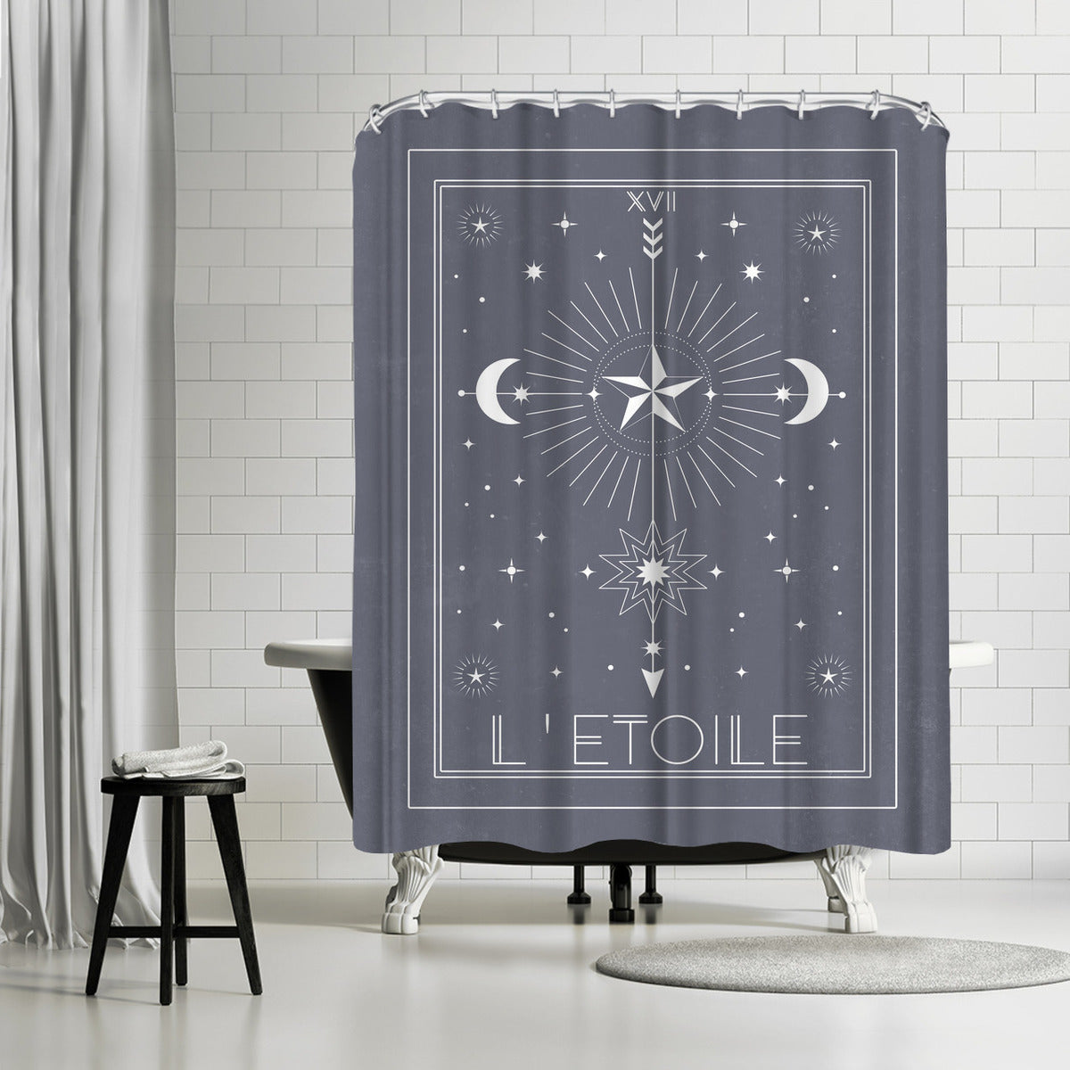 L Etoile by Emanuela Carratoni Shower Curtain -  - Americanflat