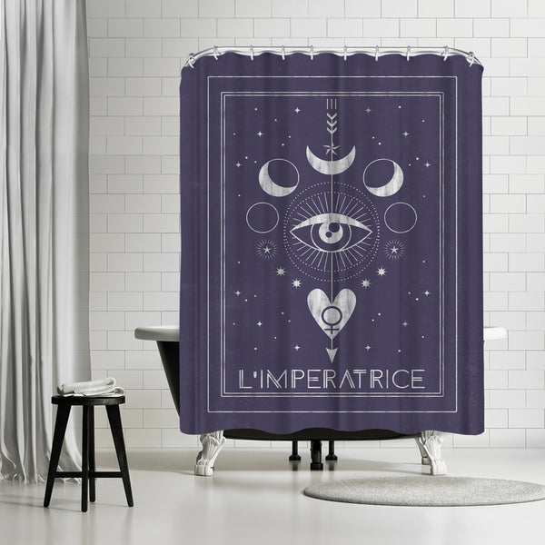 L Imperatrice by Emanuela Carratoni Shower Curtain