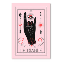 Le Diable by Emanuela Carratoni Art Print