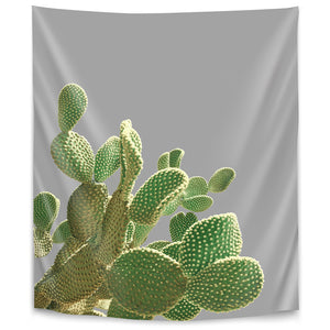 Minimal Cactus by Emanuela Carratoni Tapestry