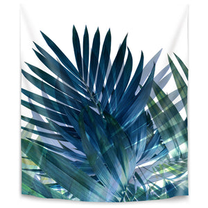 Palms Leaves by Emanuela Carratoni Tapestry