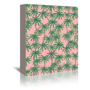 Palms Obsession by Emanuela Carratoni Wrapped Canvas