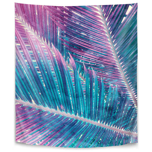Pastel Palms Ii by Emanuela Carratoni Tapestry