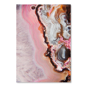 Pink Agate by Emanuela Carratoni Art Print