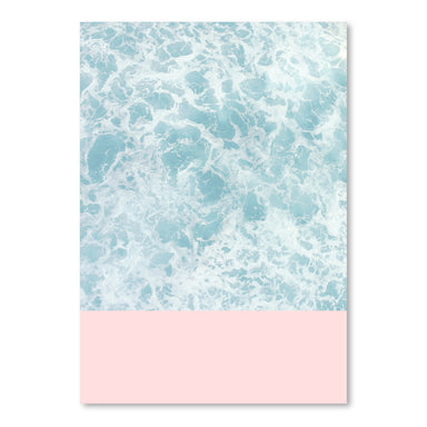 Pink On The Sea by Emanuela Carratoni Art Print - Art Print - Americanflat