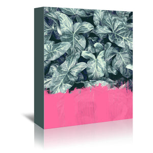 Pink Sorbet On Jungle by Emanuela Carratoni Wrapped Canvas