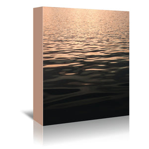 Rose Gold Sunset by Emanuela Carratoni Wrapped Canvas