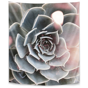 Shiny Succulent by Emanuela Carratoni Tapestry