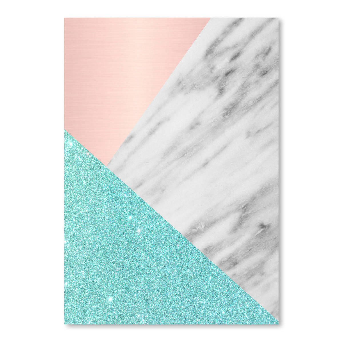 Spring Marble Collage by Emanuela Carratoni Art Print - Art Print - Americanflat