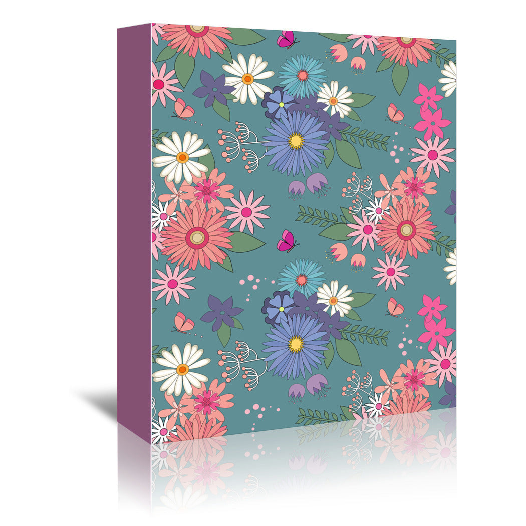 Springtime by Emanuela Carratoni Wrapped Canvas - Wrapped Canvas - Americanflat