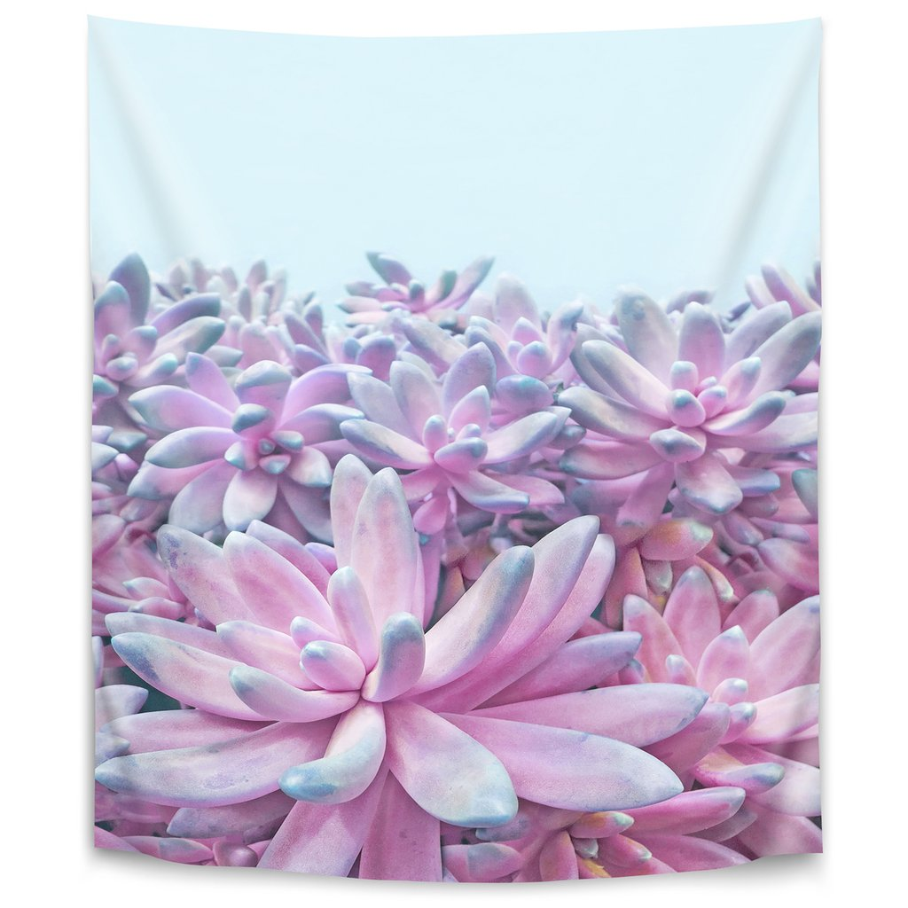 Sweet Succulent II by Emanuela Carratoni Tapestry - Wall Tapestry - Americanflat