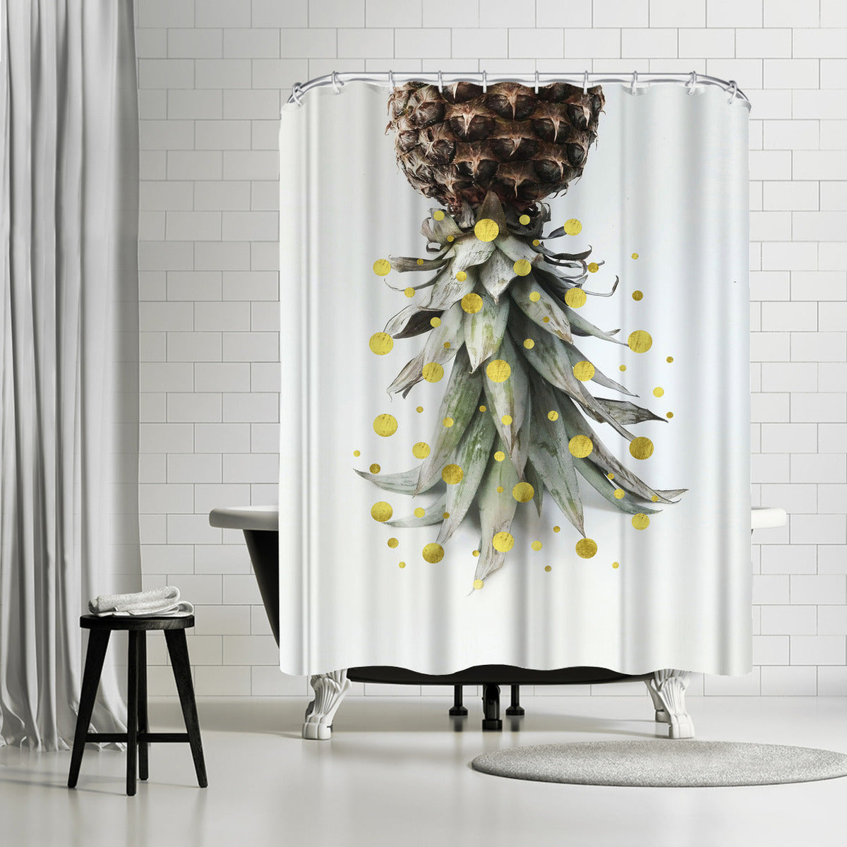 Tropical Holiday by Emanuela Carratoni Shower Curtain - Shower Curtain - Americanflat
