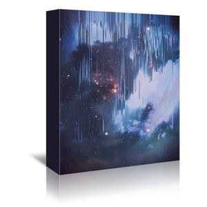 Twinkle Little Stars by Emanuela Carratoni Wrapped Canvas