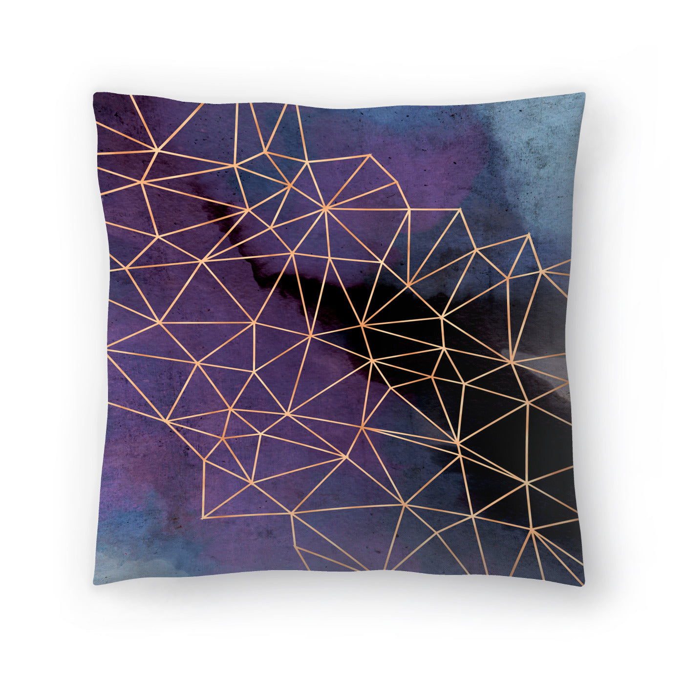 Ultraviolet Storm by Emanuela Carratoni Decorative Pillow - Americanflat