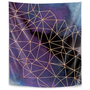 Ultraviolet Storm by Emanuela Carratoni Tapestry