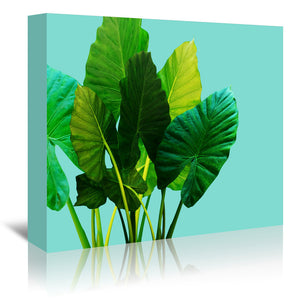 Urban Jungle by Emanuela Carratoni Wrapped Canvas