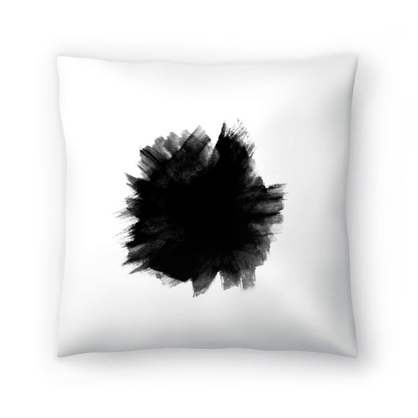 Yin by Emanuela Carratoni Decorative Pillow