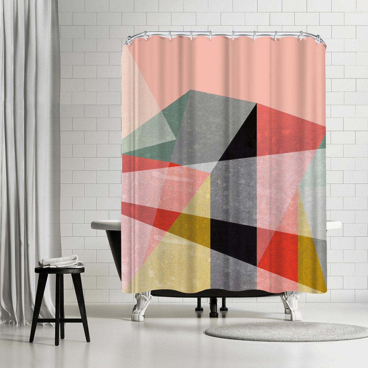 Canvas 1 by Susana Paz Shower Curtain - Shower Curtain - Americanflat