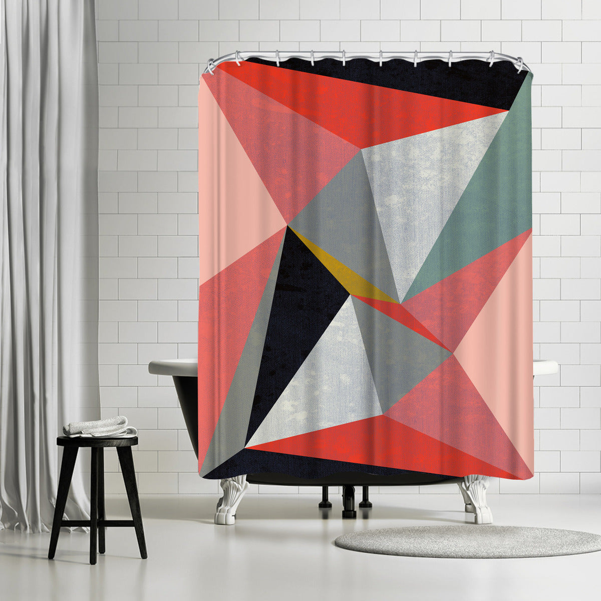 Canvas 3 by Susana Paz Shower Curtain -  - Americanflat