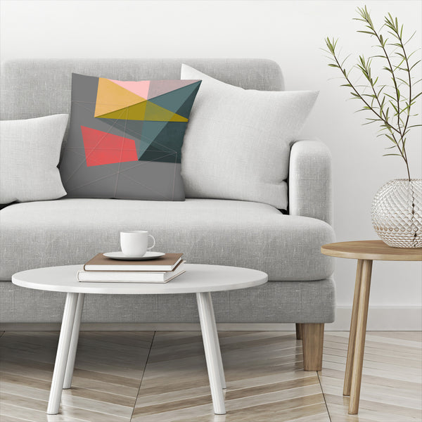 Canvas V by Susana Paz Decorative Pillow