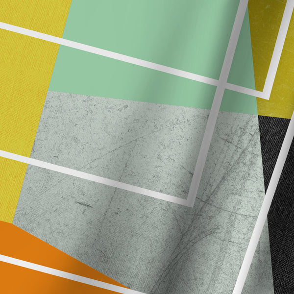 Colorblock Ii by Susana Paz Shower Curtain