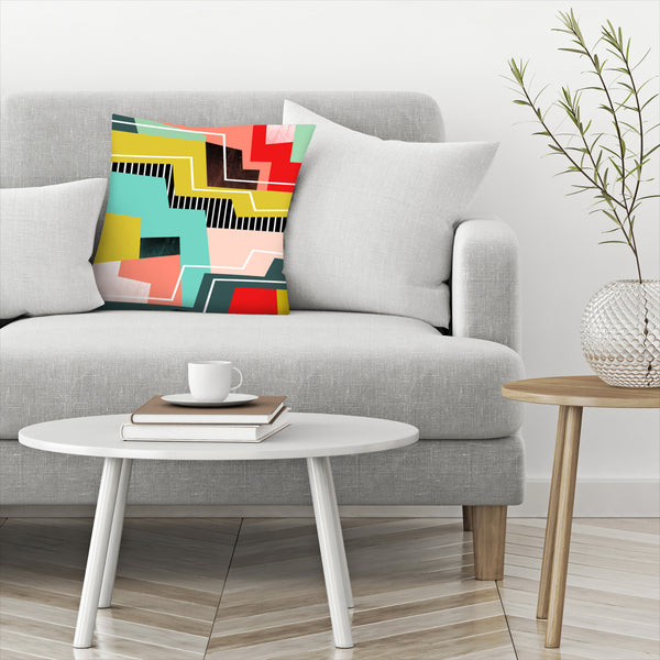 Colorblock by Susana Paz Decorative Pillow