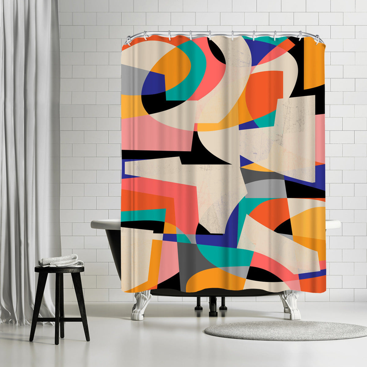 Colorshot Iii by Susana Paz Shower Curtain -  - Americanflat