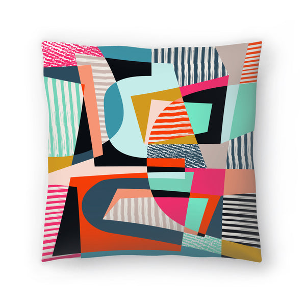 Colorshot by Susana Paz Decorative Pillow