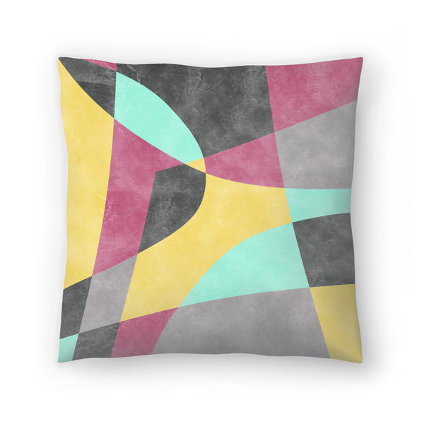 Fragments Ii by Susana Paz Decorative Pillow