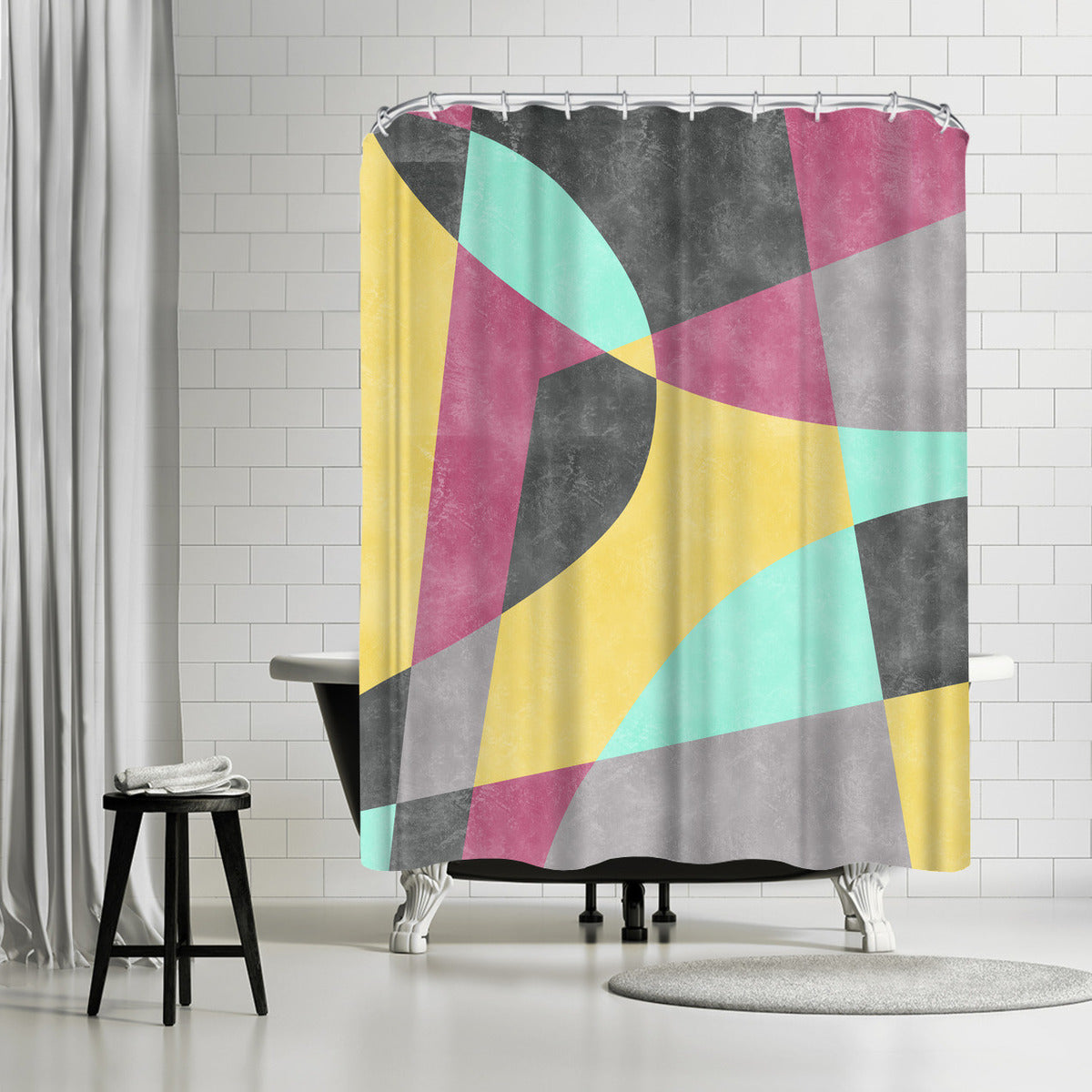 Fragments Ii by Susana Paz Shower Curtain - Shower Curtain - Americanflat