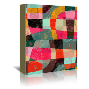 Fragments Xi by Susana Paz Wrapped Canvas
