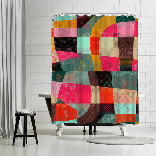 Fragments Xi by Susana Paz Shower Curtain
